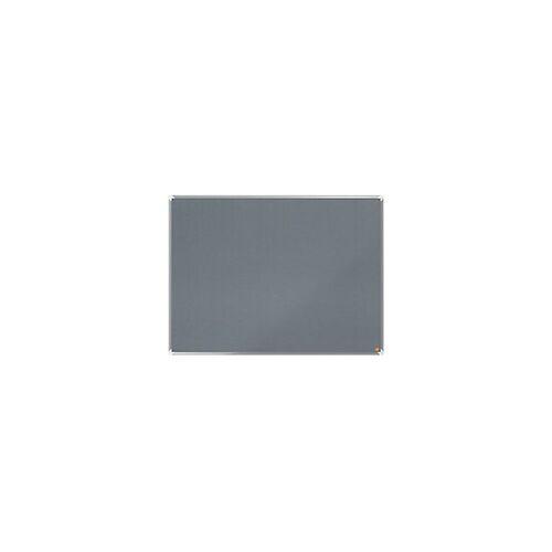 Nobo Pinnwand Filz Premium Plus Grau 120 x 90 cm