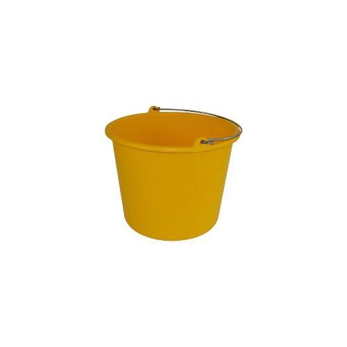 Betra Eimer Polyethylen Gelb 12 l