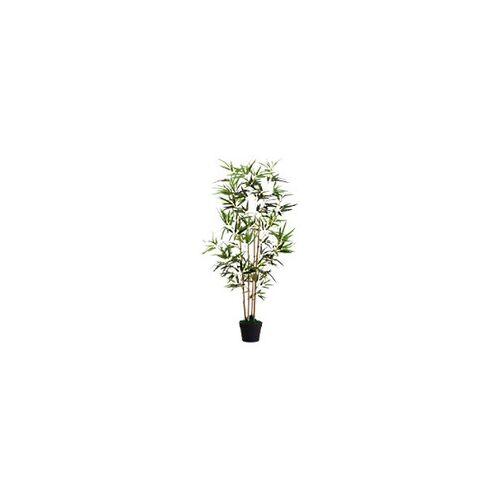 Paperflow Künstliche Pflanze Bambus Grün 190 x 190 x 1.200 mm