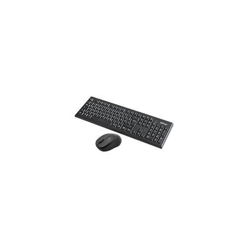 Ativa Drahtlose Tastatur und Maus HKM8117 Schwarz QWERTZ