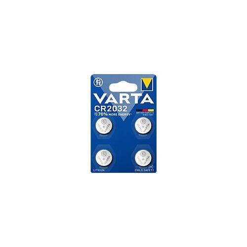 Varta Knopfzellen CR2032 4 Stück