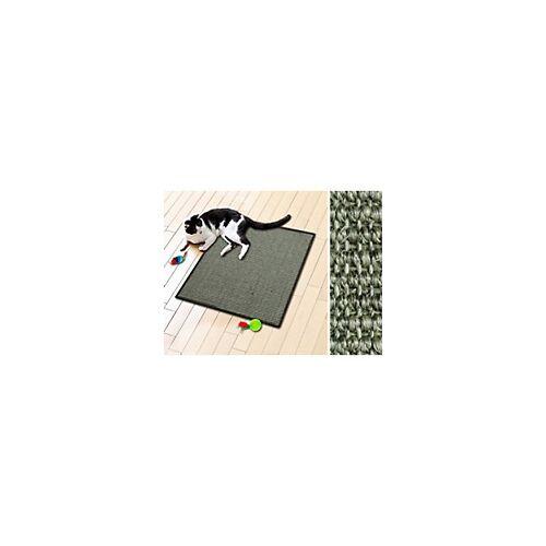 Casa Pura Katzen-Kratzteppich Sisal Grau 600 x 800 mm