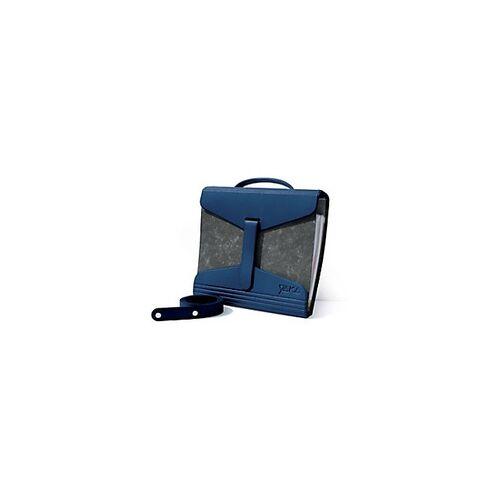 YAKA Ordnertasche PVC Blau 2 Stück