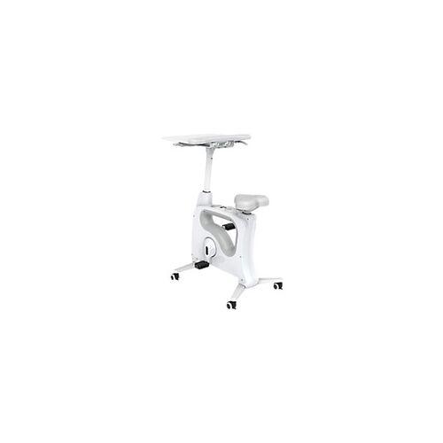Euroseats Schreibtisch Fahrrad Tournette Deluxe Weiß