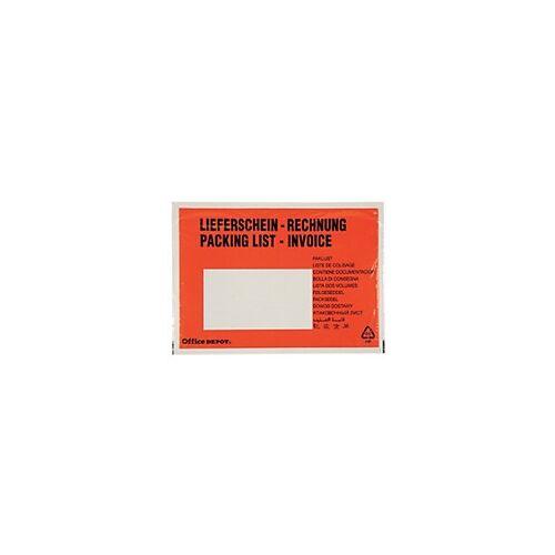 Office Depot Dokumententaschen DIN C6 11 x 17,5 cm 250 Stück