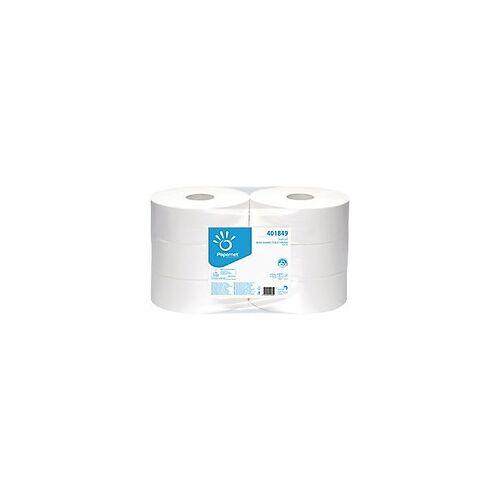 Papernet Toilettenpapier Jumbo 2-lagig 6 Rollen à 1180 Blatt