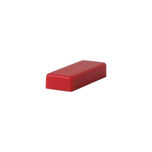 Niceday Whiteboard Magnete Rot 1,2 x 3,3 cm 10 Stück