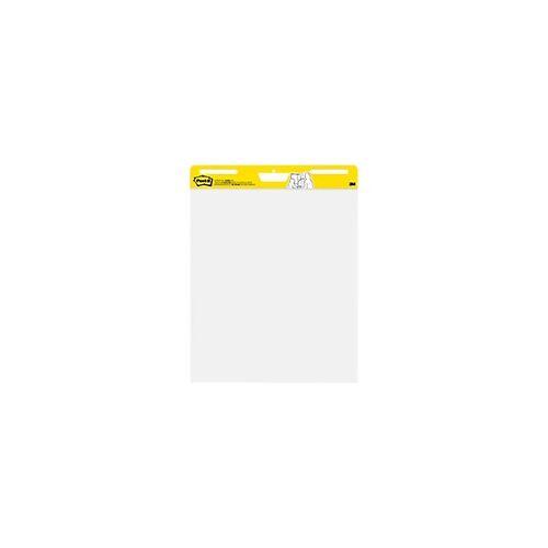 Post-it Flipchart-Papier 559 Weiß 63,5 x 77,5 cm 2 Stück à 30 Blatt