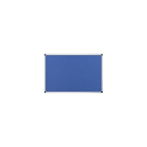 Office Depot Pinnwand Blau 120 x 90 cm
