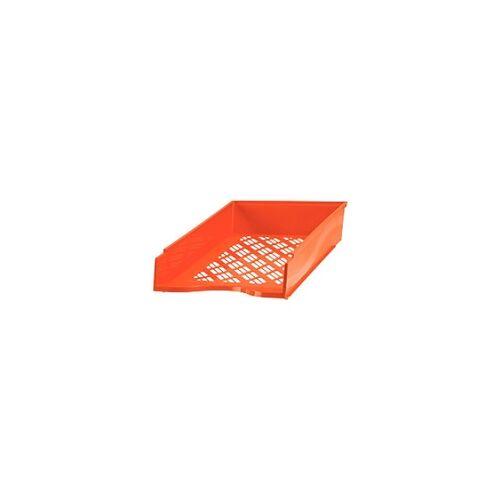 Bene Briefkorb Polystyrol Rot 25,6 x 35 x 7 cm