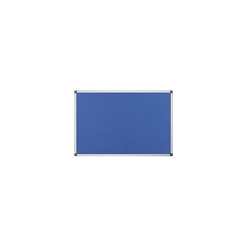 Office Depot Pinnwand Blau 90 x 60 cm
