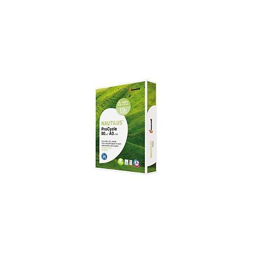 Nautilus Recyclingpapier DIN A3 Weiß 135 CIE 500 Blatt