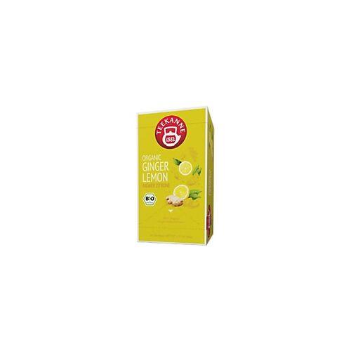 TEEKANNE Bio Ingwer Zitrone Tee Packung mit 20 Stück