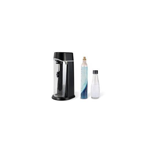 glass life Wassersprudler Starter Set Glass Life ZY331400000733 Schwarz inkl. Glasflasche und 1 CO2-Zylinder