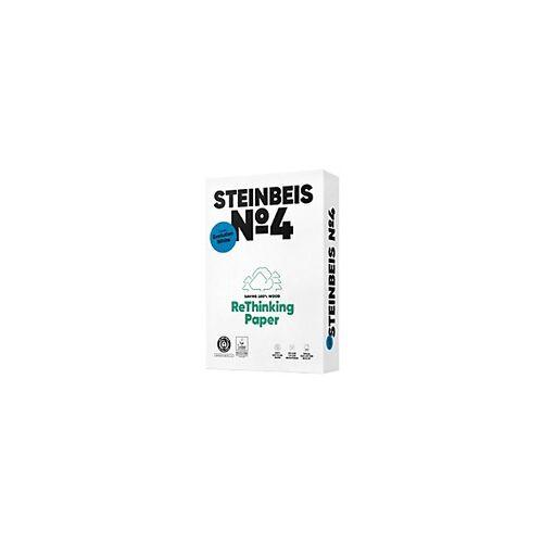 Steinbeis Nr. 4 100% Recycling Kopier-/ Druckerpapier DIN A4 80 g/m² 135 CIE 500 Blatt