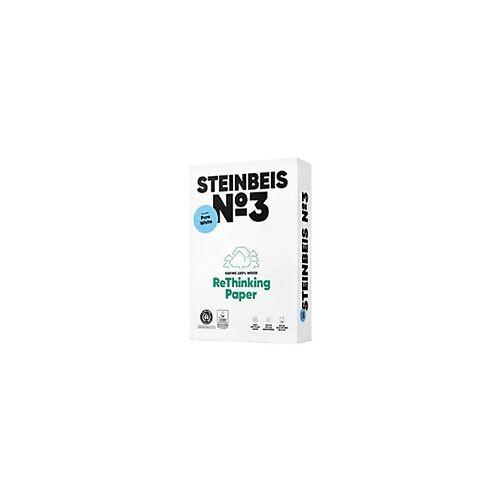 Steinbeis Nr. 3 100% Recycling Kopier-/ Druckerpapier DIN A4 80 g/m² 110 CIE 500 Blatt