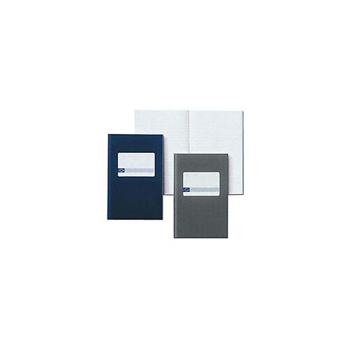 Atlanta 165 x 105 mm Gebundenes blaues Hardcover-Notizbuch Liniert  96 Blatt
