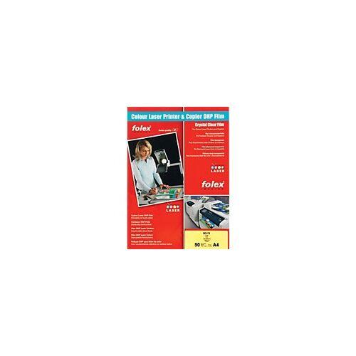 Folex Overhead-Folien BG72 DIN A4 Transparent 50 Blatt