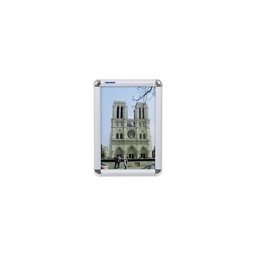 Franken Wechselrahmen DIN A4 Silber 23,9 x 32,6 cm