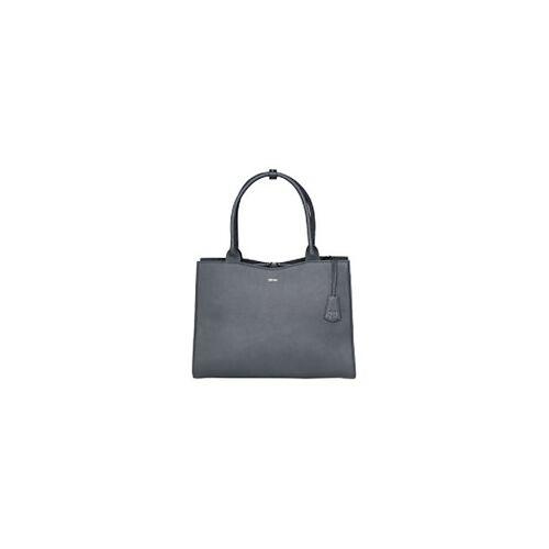 """SOCHA Laptop-Tasche Diamond 15,6"""" Leder Grau 44 x 13 x 31 cm"""