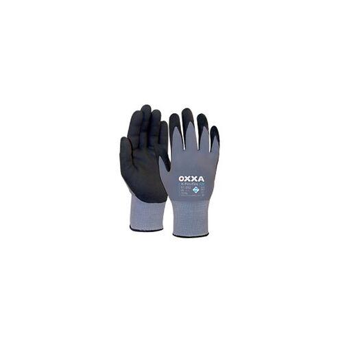 Oxxa Handschuhe X-Pro-Flex Air Polyurethan Größe XXL Schwarz, Grau 2 Stück