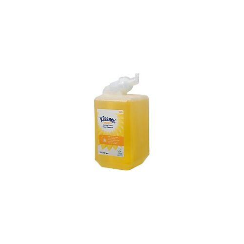 Kleenex Handreiniger Nachfüllung Teebaumöl und Zitronenextrakte 6385 Luxusschaum 1 L 6 Stück