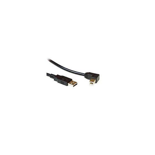 ACT USB 2.0 A Männlich - USB B Männlich angewinkelt 1.8 M