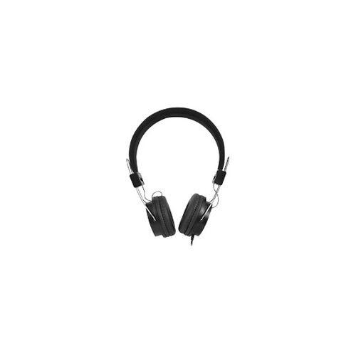 ewent Kopfhörer mit weichen Ohrpolstern und klappbarem Stirnband verkabelt EW3573