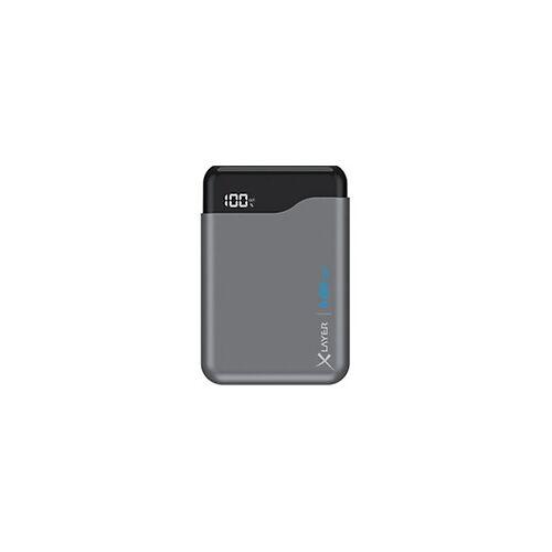 XLayer Powerbank Micro Pro 5000 mAh Schwarz, Grau