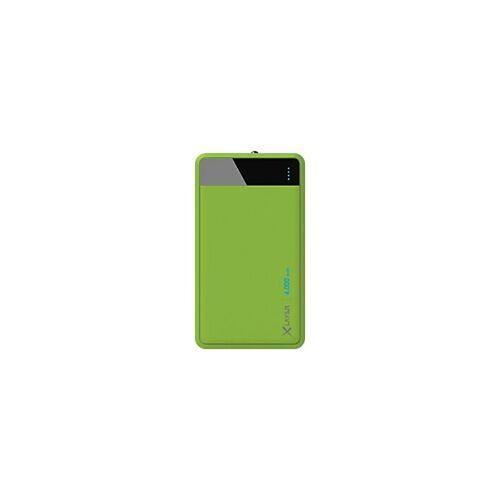 XLayer Powerbank Color Line 4000 mAh Grün