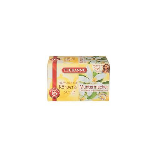 TEEKANNE Muntermacher Kräuter Tee 20 Stück à 2 g