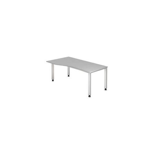 Hammerbacher Schreibtisch QS18 Grau 800 x 685 mm