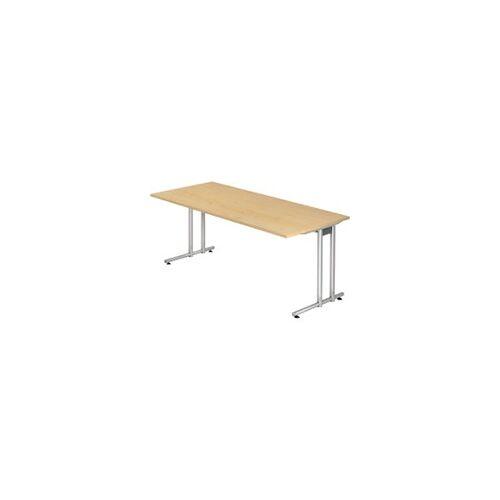 Hammerbacher Schreibtisch VNS 19/3 Ahorn 1.800 x 1.000 x 800 mm