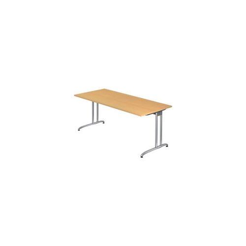 Hammerbacher Schreibtisch VBS 19/6 Buche 1.800 x 800 x 720 mm