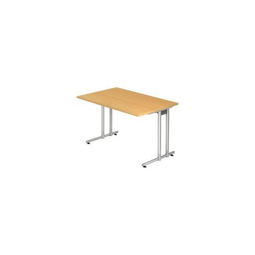 Hammerbacher Schreibtisch Buche 1.200 x 800 x 720 mm