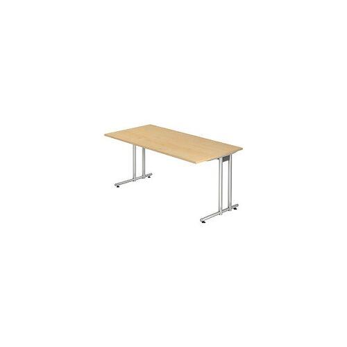 Hammerbacher Schreibtisch Ahorn 1.600 x 800 x 720 mm
