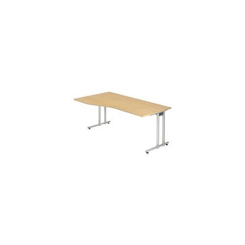 Hammerbacher Schreibtisch Ahorn 1.800 x 800 x 720 mm