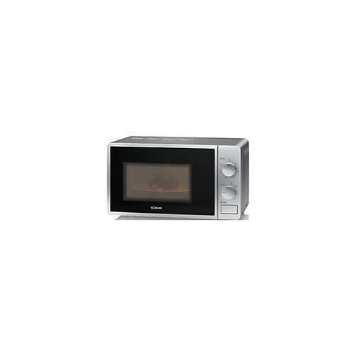 BOMANN Mikrowelle MW 6014 CB 700 W 20 Silber