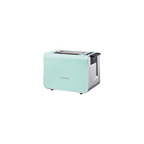 Bosch Toaster Grün, Edelstahl Edelstahl 860 W TAT8612