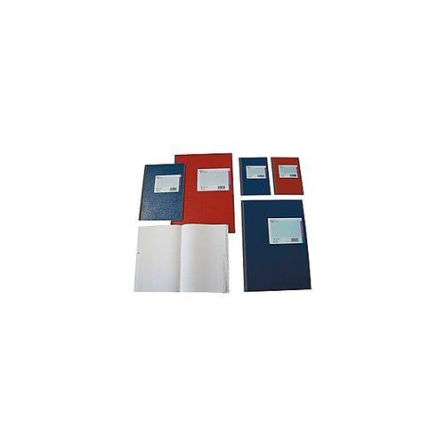 König & Ebhardt K+E Kladde DINA4 / 8618642-600SB96DR, rot, kariert, Register A-Z, Inh.96Blatt