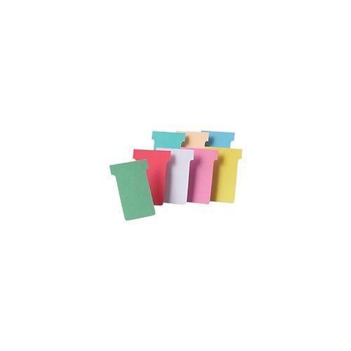 Nobo T-Steckkarten 2 Grün 6 x 8,5 cm 100 Stück