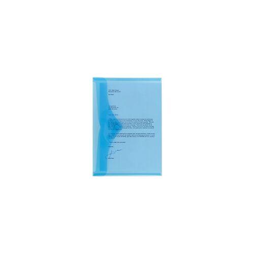 Office Depot Aufbewahrungstaschen DIN A4 Blau Polypropylen 5 Stück