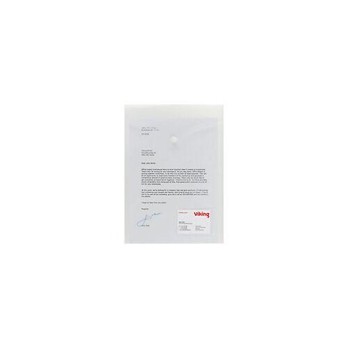 Office Depot Aufbewahrungstaschen DIN A4 Transparent Polypropylen 5 Stück