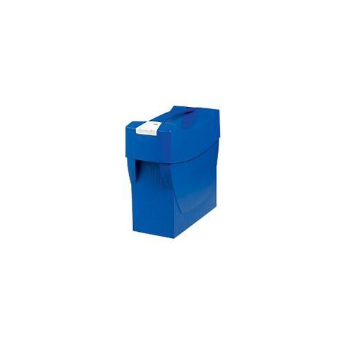 HAN Hängeregistraturbox Swing DIN A4 Blau 39,7 x 15,4 x 34,7 cm