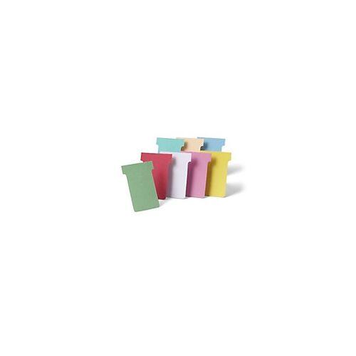 Nobo T-Steckkarten 3 Orange 9,2 x 12 cm 100 Stück