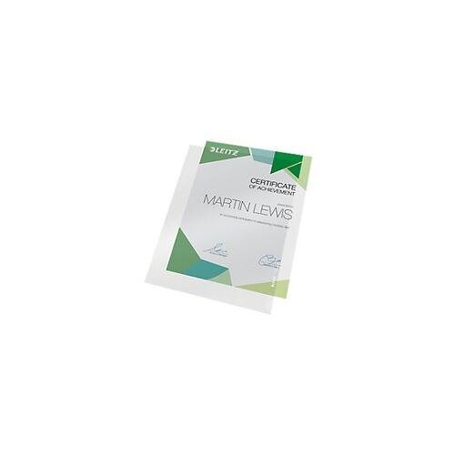 Leitz Ordnertasche 41000003 DIN A4 PVC 150 Mikron Durchsichtig 100 Stück