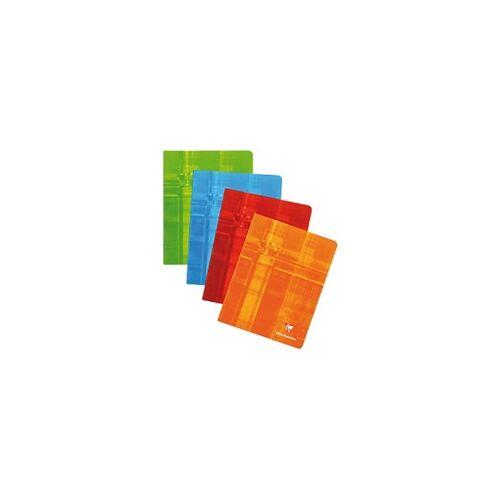 Clairefontaine Notizbuch 4635009 165 x 210 mm Liniert Rot 60 Blatt
