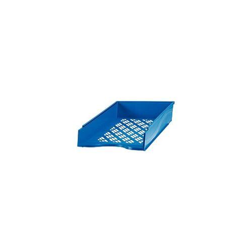 Bene Briefkorb Polystyrol Blau 25,6 x 35 x 7 cm