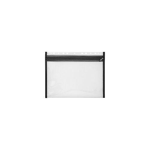 Veloflex Reißverschlusstasche Velobag XS / 4354080, DINA4, schwarz