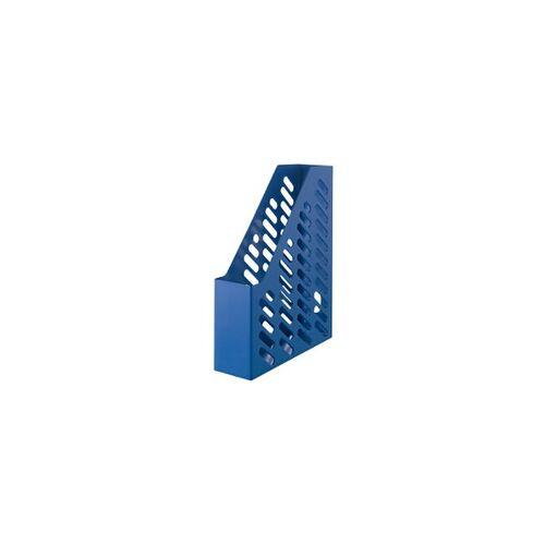 HAN Zeitschriftenordner Karma Polystyrol Öko Blau 7,6 x 24,8 x 31,5 cm